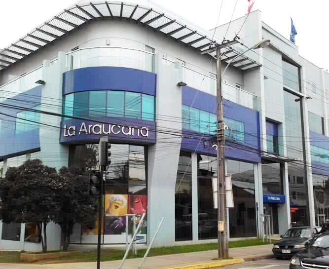 Edificio La Araucana, Los Ángeles